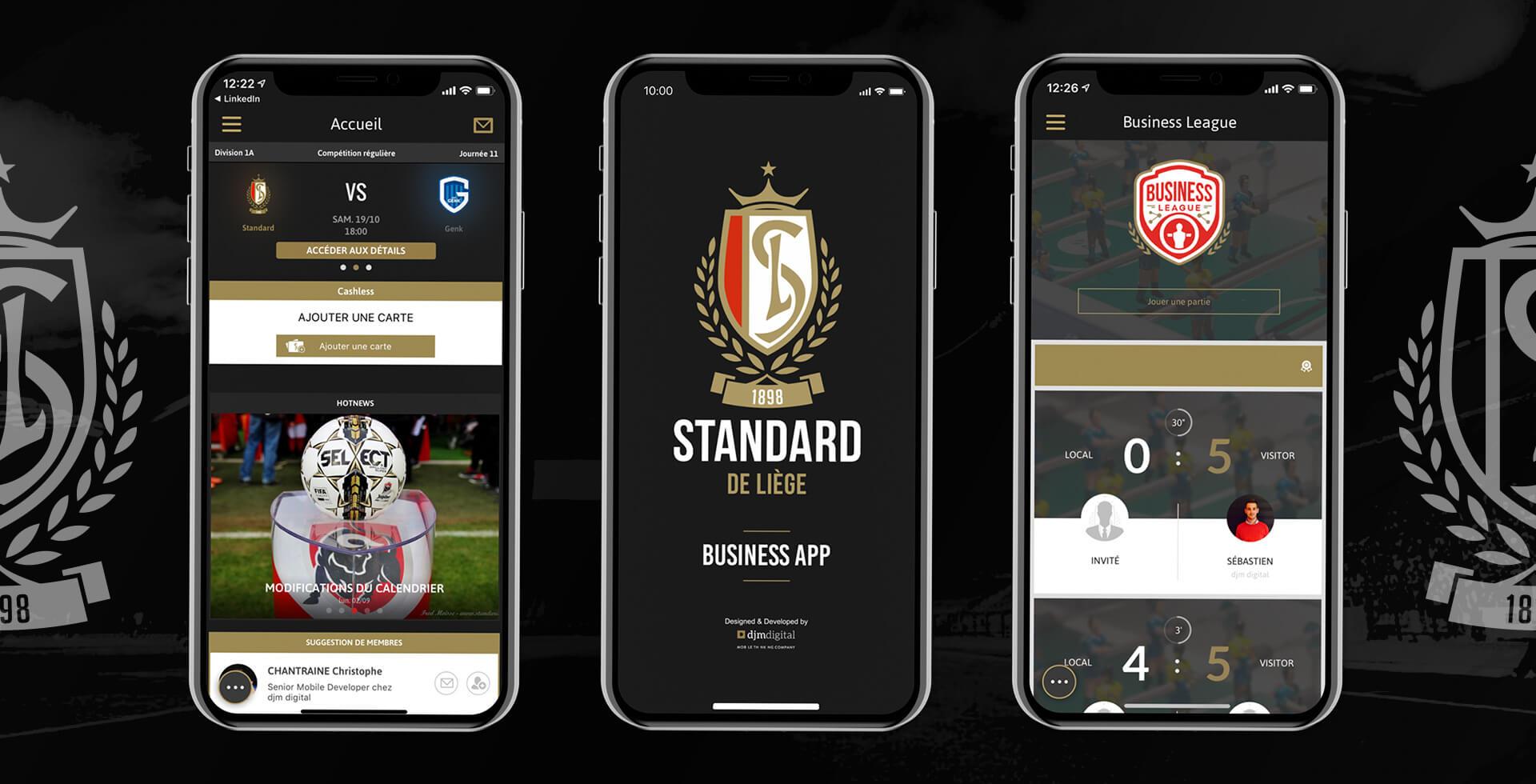 Standard de Liège Business App