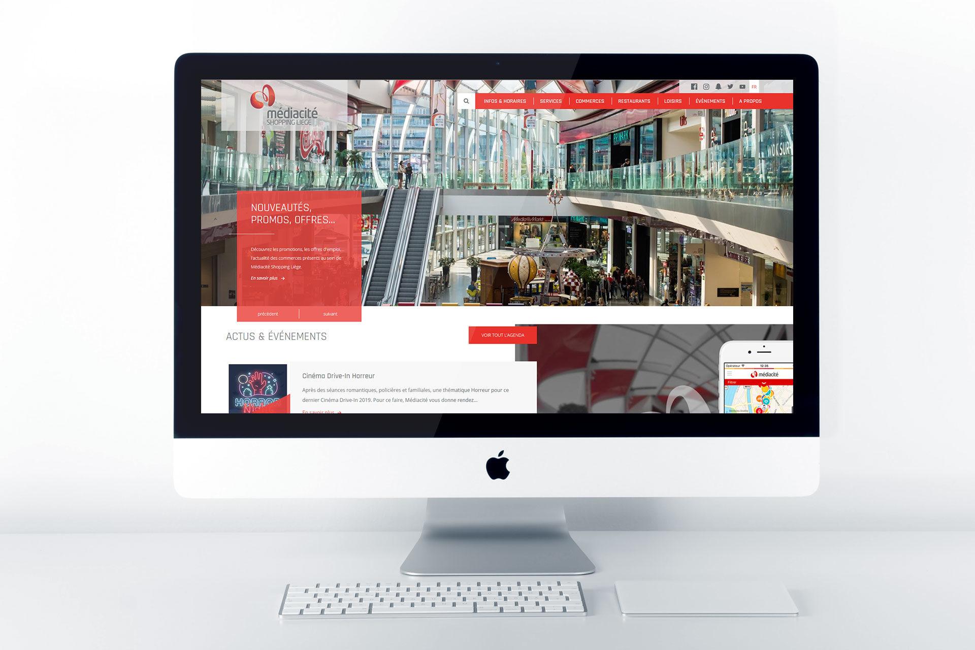Site web de Mediacité