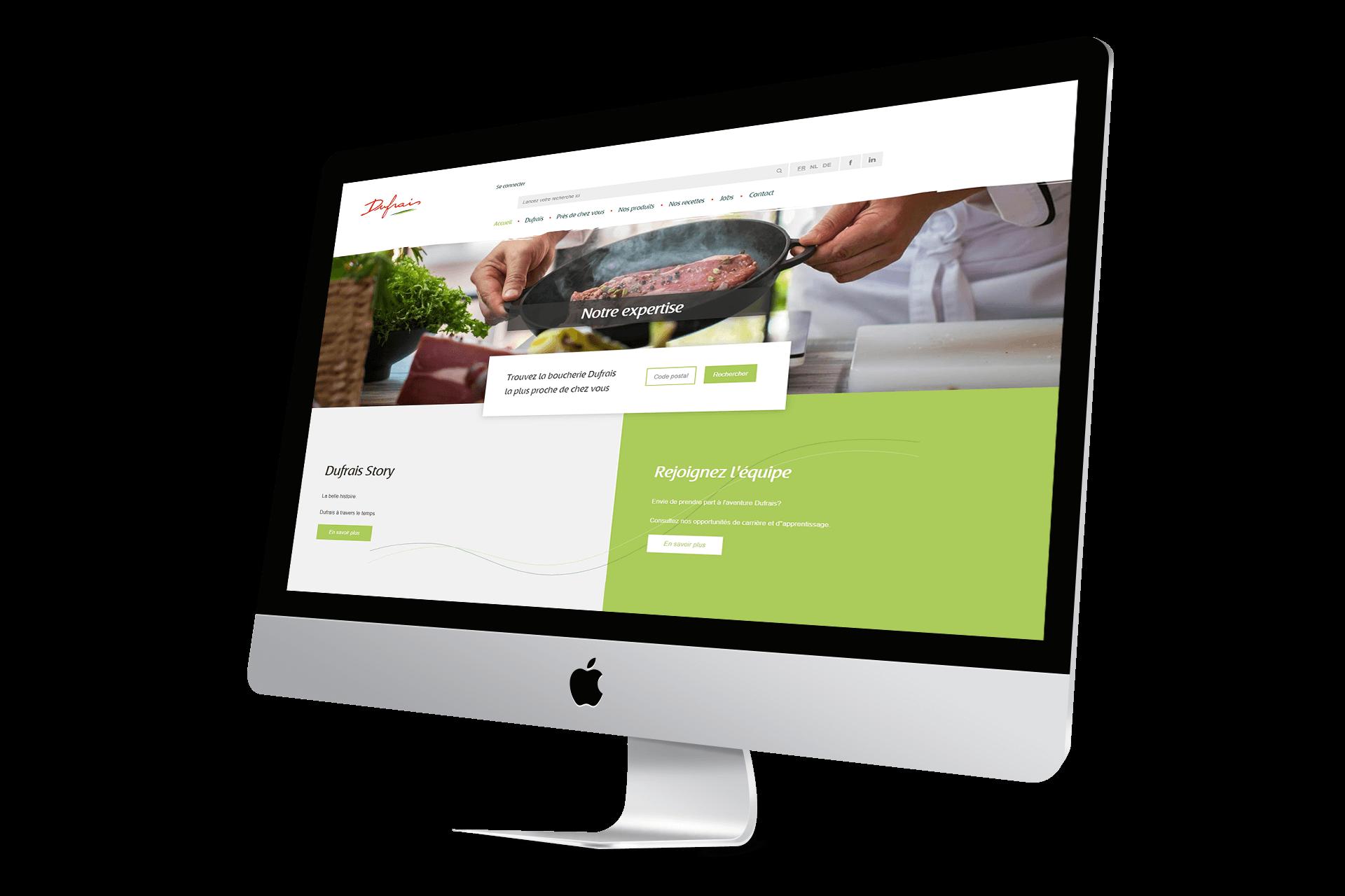 Site web Dufrais