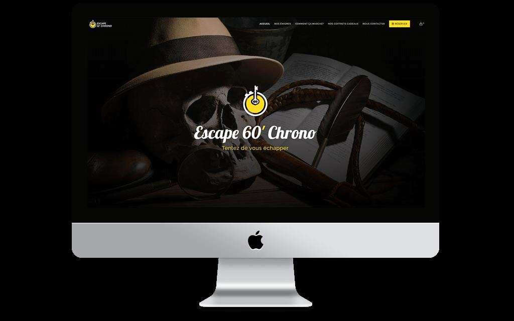 Site web Escape 60 Chrono