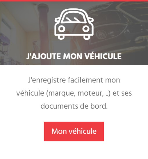 Total Auto Care - Ajouter ma voiture
