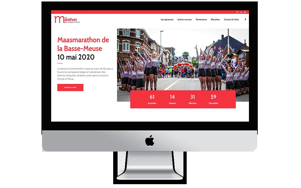 Maasmarathon website