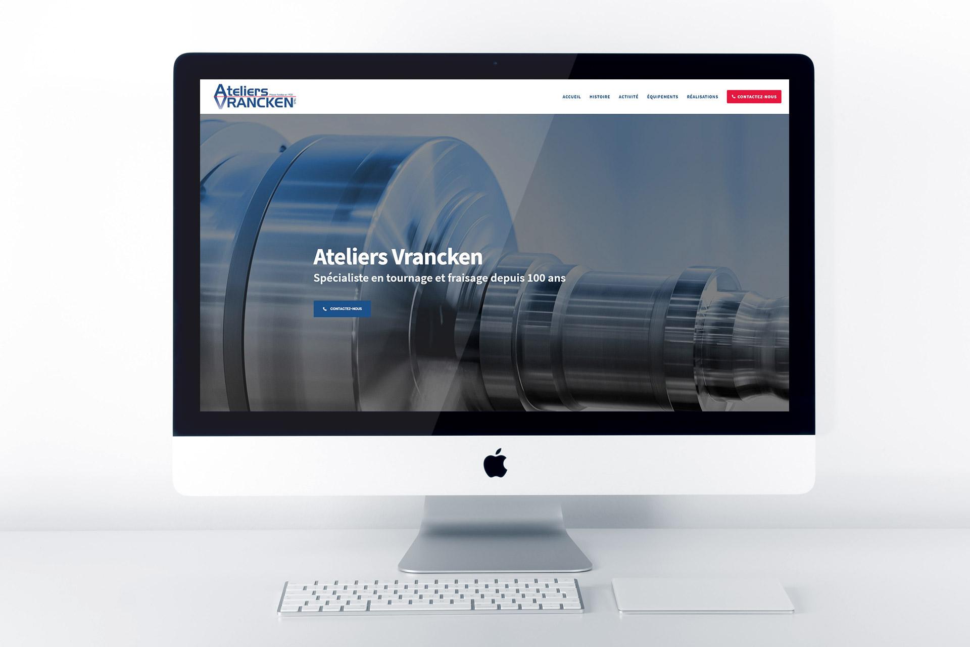 Ateliers Vrancken website