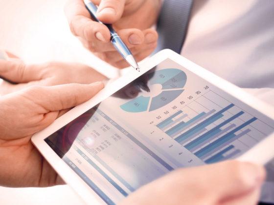 Data marketing on iPad